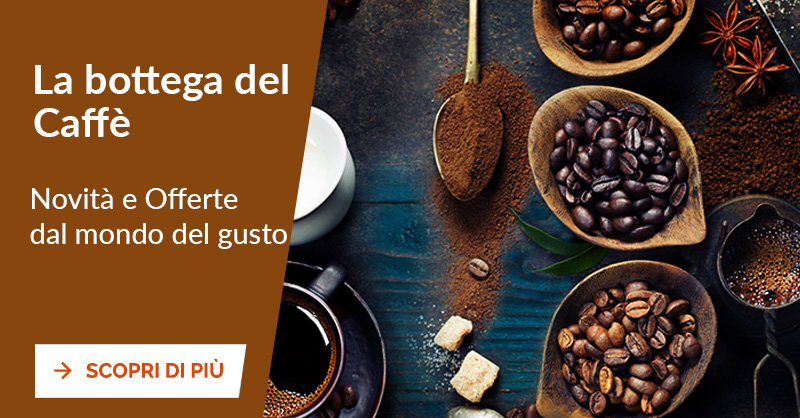Promozioni caffè, capsule e cialde