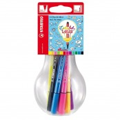 Set 12 pennarelli Pen 68 Mini Colorful Ideas colori assortiti