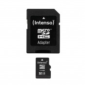 Scheda di memoria microSDHC 32 GB Class 10 + adattatore SD...