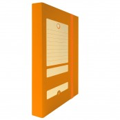 Scatola portaprogetto D3 arancio