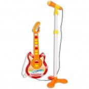 Baby-Chitarra Rock elettronica e microfono