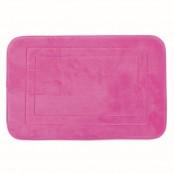 Tappeto bagno memory 50x80 cm rosa