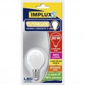 Lampadina LED Stripes Retrofit G45 candela E14 4W 2700K A+