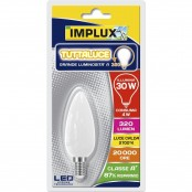 Lampadina LED Stripes Retrofit candela E14 4W 2700K