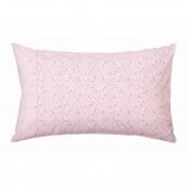 Set 2 federe a fiori rosa 50x80 cm