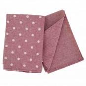 Set 2 asciugapiatti 50x70 cm rosa/a pois