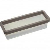 Stampo Plum cake in silicone 25x7 cm
