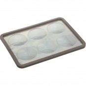 Stampo 6 muffins in silicone