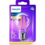 Lampadina LED Filamento Goccia E27 8W luce fredda