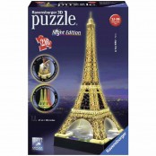 Puzzle 3D Building Special Tour Eiffel night edition