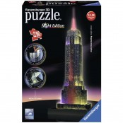 Puzzle 3D Special Empire State Building night edition
