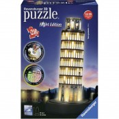 Puzzle 3D Building Special Torre di Pisa night edition