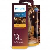 Lampadina Candela LED Vintage Gold E14 2,3W A+