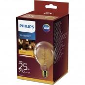 Lampadina LED Vintage Gold E27 5W Bronzo dimmerabile A+