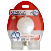 Lampada filament LED 8W A60 E27 3000k