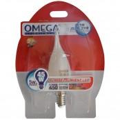 Lampada LED filament 5W C35 soffio di vento E14 3000k