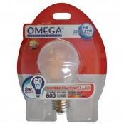 Lampada LED filament smerigliata goccia A60 8W E27 800lm...