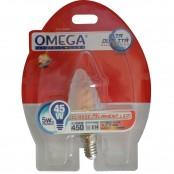 Lampada LED filament smerigliata oliva tortiglione E14 5W...
