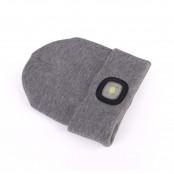 Cappello con luce ricaricabile integrata