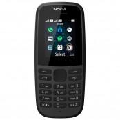 Cellulare Nokia 105 (2019) Dual Sim GSM nero 16KIGB01A08