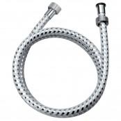 Flessibile doccia cromato/bianco H0239 150 BI