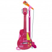 Chitarra rock con microfono