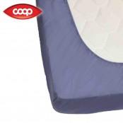 Lenzuolo con angoli 1 piazza e ½ Blu