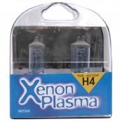 2 lampade per fari auto H4 Xenon Plasma 60/55W