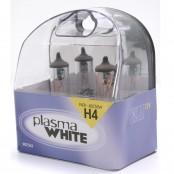 2 lampade per fari auto H4 Plasma White 60/55W
