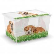 Scatola c box XL style puppy & kitten 55x38,5x30,50 cm