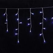 Tenda luminosa 180 led bianco flash collegabile da esterno