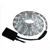 Tubo luminoso led bianco 3 funzioni 8m per esterno