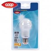 Lampada goccia a risparmio energetico E27 600 lm luce calda