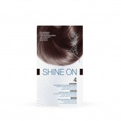Trattamento colorante capelli SHINE ON Castano 4 125 ml