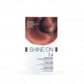 Trattamento colorante capelli SHINE ON Biondo ramato 7.4...