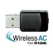 ADATTATORE NETWORKING  D-LINK  DWA-171 Adattatore Nano USB...
