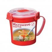 Sistema Microwave mug per microonde con coperchio 656 ml