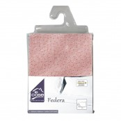 Federa 50x80 cm Pois rosa