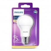 Lampadina LED luce bianca calda A60 E27 75W 2700K A+ non...