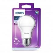 Lampadina LED goccia smerigliata luce bianca fredda A60...