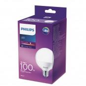 Lampadina LED globo smerigliato luce bianca caldo G93 E27...