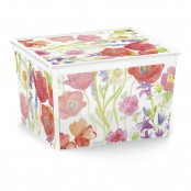 Box cube decoro Ethnic 40x34x25 cm