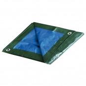 Telo occhiellato verde/blu polietilene 2x3 m
