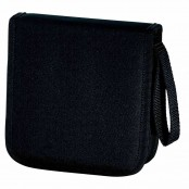 Borsa porta CD 32 CD/DVD nero 7495645
