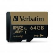Scheda di memoria microSDXC UHS-I 64 GB + adattatore SD 44034
