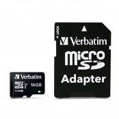 Scheda di memoria flash microSDHC 16 GB Class 10 con...