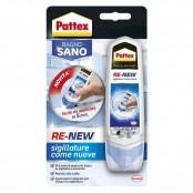 Silicone Pattex Bagnosano Re New 100ml bianco
