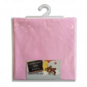 Copriletto per culla Dormendo piquet 80x120 cm col. rosa