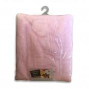 Copertina per lettino Dormendo in pile 110x180 cm col. rosa