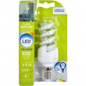 Lampadina Spirale LED 7W E14 LD129